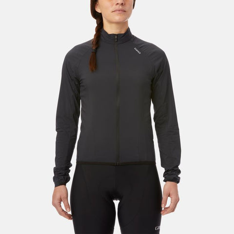 GIRO W'S CHRONO EXPERT WIND JACKET BLACK - XS