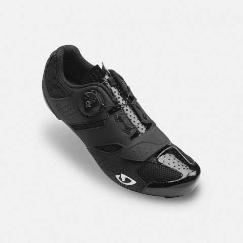 GIRO W'S SAVIX ROAD SHOE - BLACK - SIZE 39
