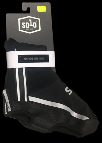 SOLO NEOPRENE OVERSHOES - BLACK - MEDIUM