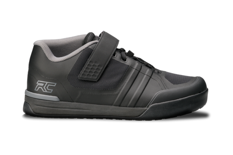 RIDE CONCEPTS TRANSITION CLIPLESS BLACK/CHARCOAL - SIZE 43.5