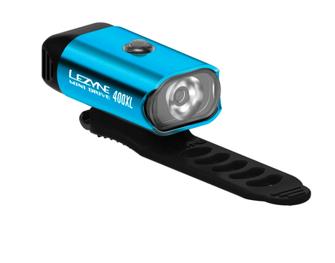 LEZYNE MINI DRIVE 400 - HIGH GLOSS BLUE