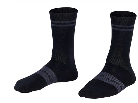 BONTRAGER RACE CREW SOCK BLACK - SMALL