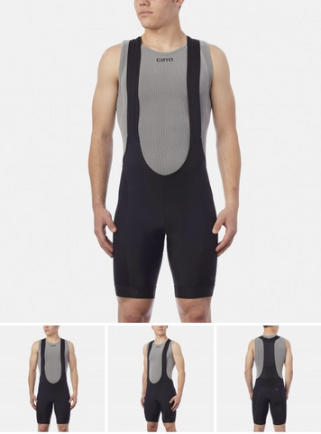 GIRO CHRONO PRO BIBSHORT BLACK - MEDIUM