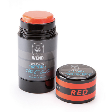WEND CHAIN LUBE WAX-ON STICK - RED 80ML