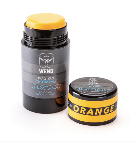WEND CHAIN LUBE WAX-ON STICK - ORANGE 80ML