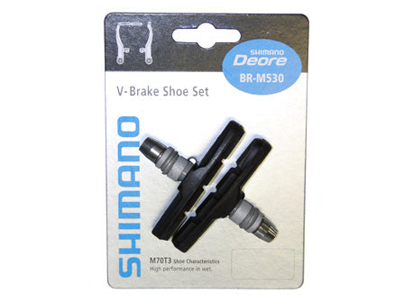 SHIMANO BR-M590 V-BRAKE SHOE SET (M70T3)
