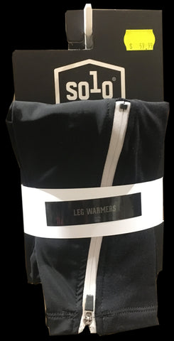 SOLO LEG WARMERS - BLACK - XS