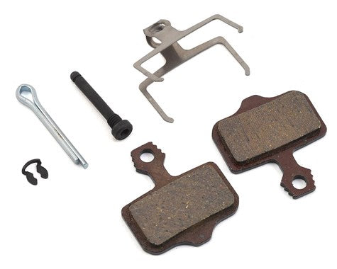SRAM ELIXIR DISC BRAKE PADS ORGANIC/STEEL BACKING PLATE