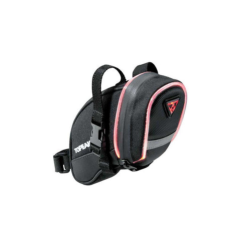 TOPEAK iGLOW AERO WEDGE PACK W/STRAP - SMALL