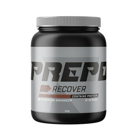 PREPD POWDER TUBS: RECOVER CHOCOLATE