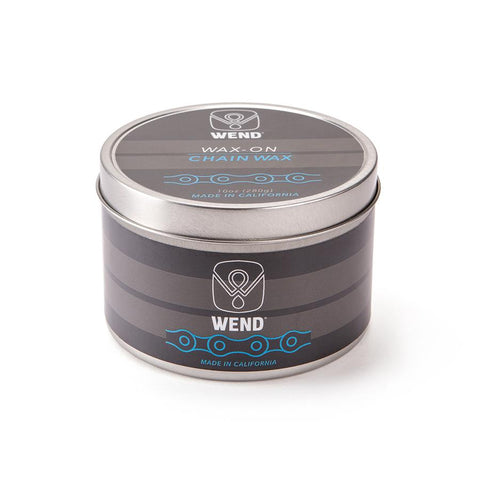 WEND CHAIN LUBE WAX-ON TIN WHITE - 320ML