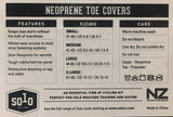 SOLO NEOPRENE TOE COVERS - BLACK - MEDIUM