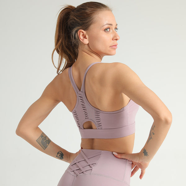 Full-wrapped Vest Sports Bra Nets