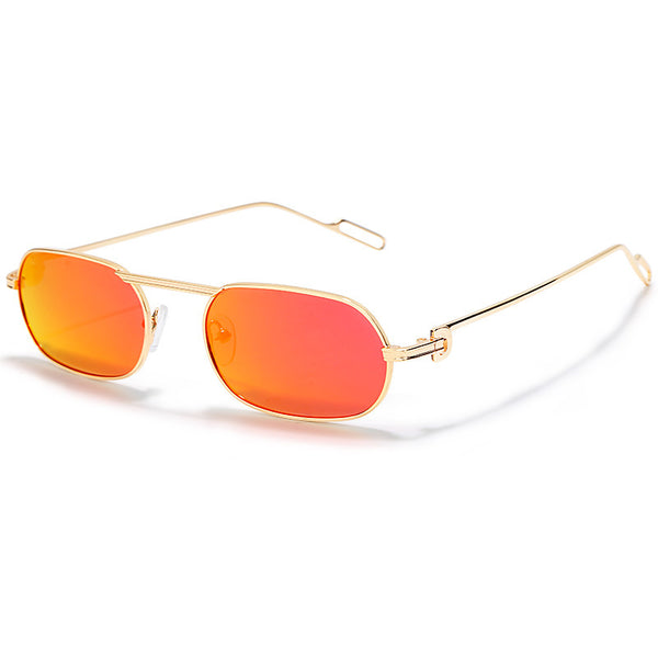 Spot new small long frame polarized sunglasses