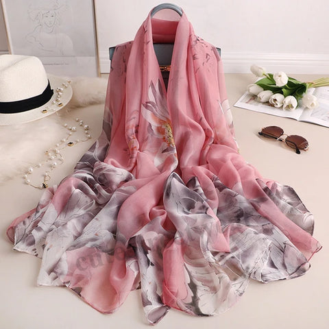 2020 spring new warm silk scarf women sun protection holiday beach towel air conditioning warm long shawl