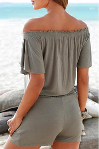 Sexy  Loose Off-Shoulder Romper
