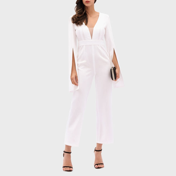 Fashion Sexy Solid Color Jumpsuit