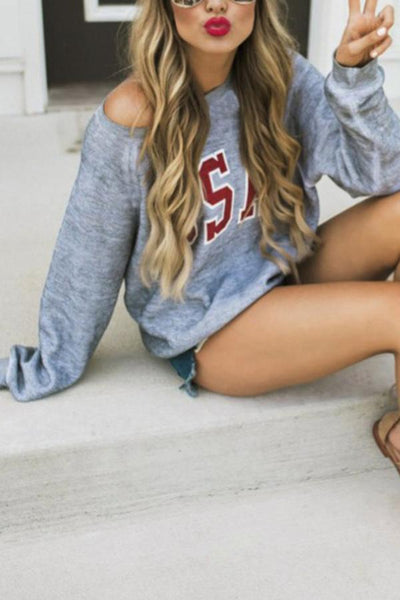 Casual Loose T-Shirt Sweater Pullovers