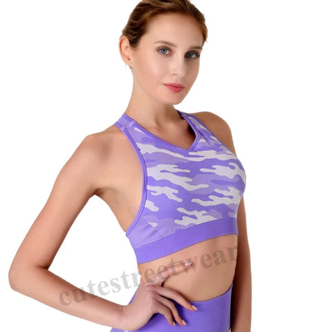 Running Fitness Styled Fast-Track Camouflage Vest