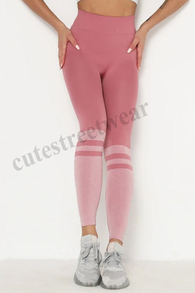 Seamless Ygpins Sexy High-waisted Hip-smoldering Skinny Yoga Pants