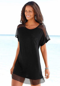 MESH EDGE COVER-UP