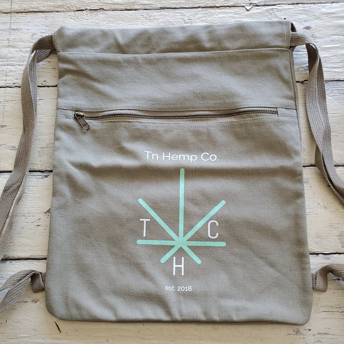 Tn Hemp Co. Canvas Cinch Sak