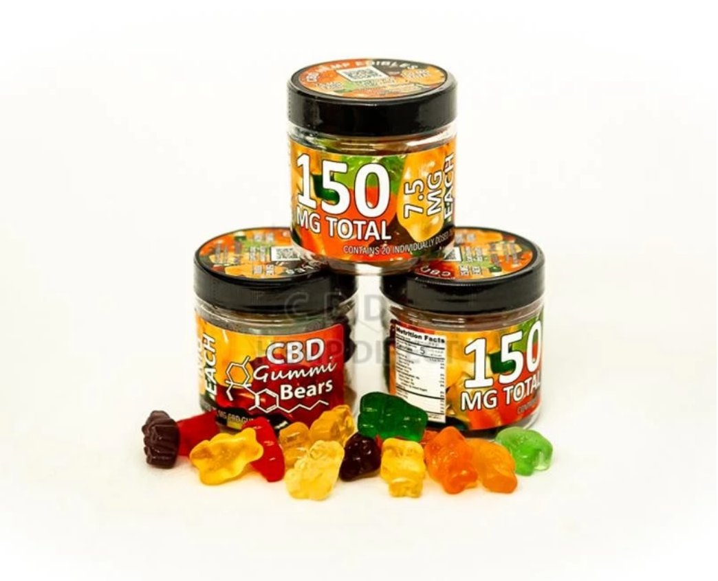 150mg CBD Gummi Bears