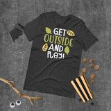 Get Outside And Play Halloween Short-Sleeve Unisex T-Shirt