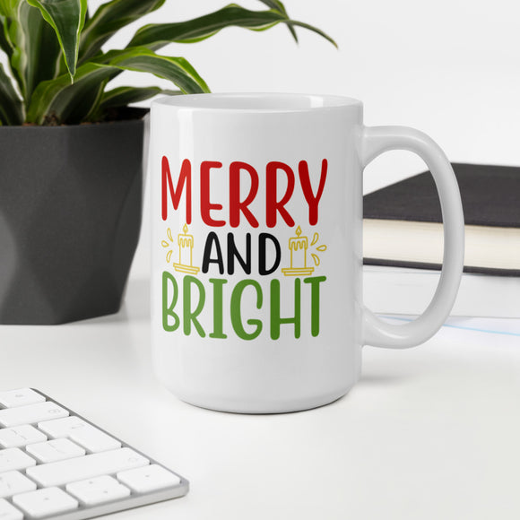 Merry And Bright Ugly Christmas Gift Mug