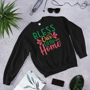 Bless Our Little Home Ugly Christmas Unisex Sweatshirt
