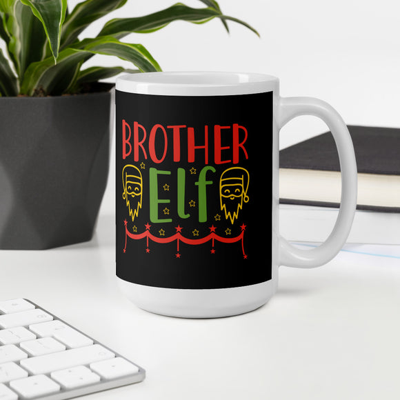 Brother Elf Christmas Mug