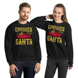 Cookies For Santa Christmas Unisex Sweatshirt