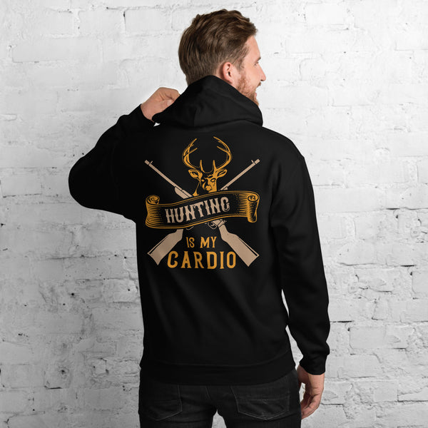 Hunting Is My Cardio Funny Hunter Unisex Hoodie