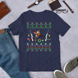 Funny Christmas Pajama Unisex T-Shirt For Pheasant Hunter