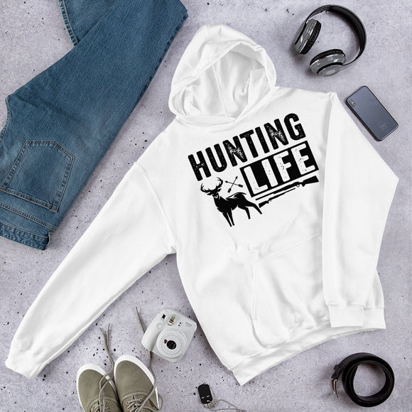 Hunting Life And The Great Outdoors Unisex Hoodie