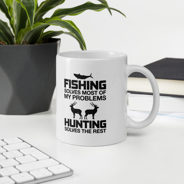 Hunting Fishing And The Great Outdoors Mug