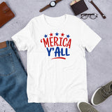 Merica y'all 4th of July t shirts