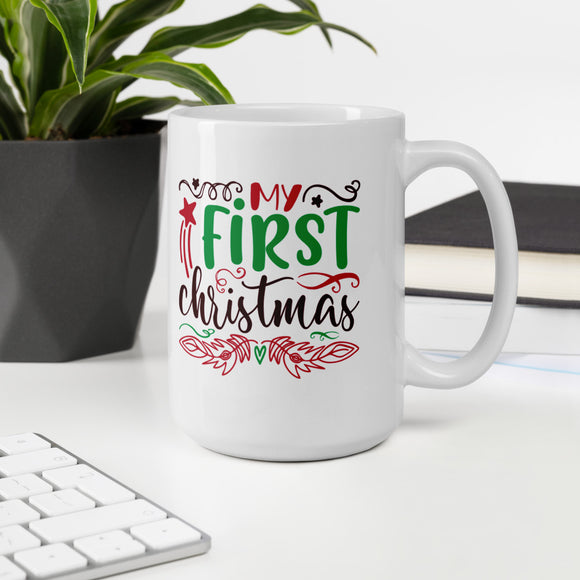 My First Christmas Ugly Mug