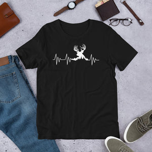 Big Buck Hunter Heartbeat Hunting Trip Unisex T-Shirt
