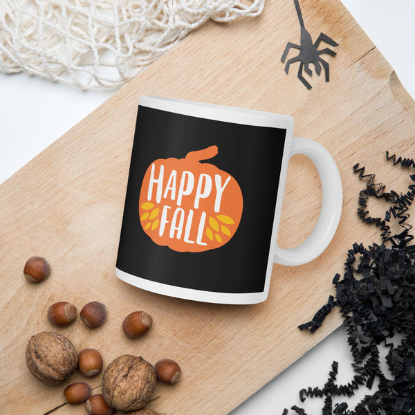 Happy Fall Thanksgiving And Fall Mug