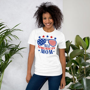 All American Mom 4th of July Gifts T-Shirt