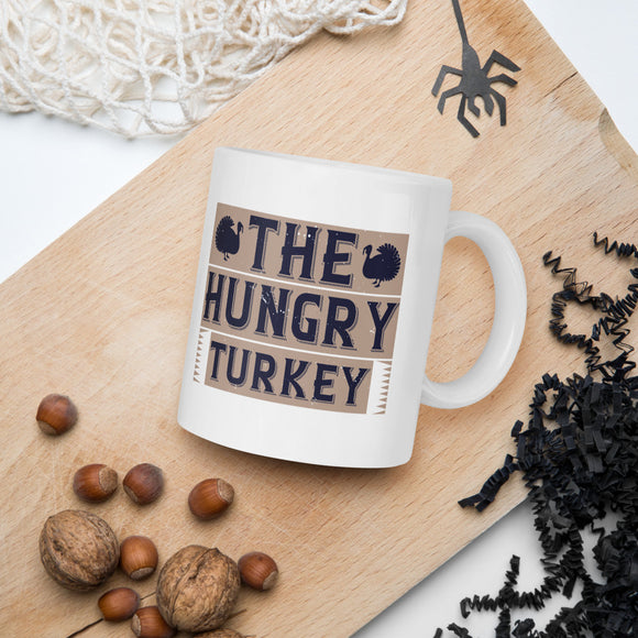 The Hungry Turkey Thanksgiving And Fall Mug