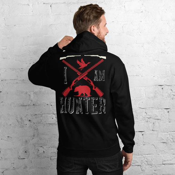 I Am Hunter Big-game Waterfowl Legend Hunting Season Unisex Hoodie