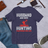 Husband And Wife Hunting Partners For Life Unisex T-Shirt