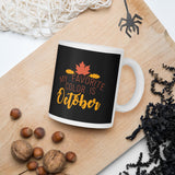 My Favorite Color Is October Thanksgiving And Fall Mug