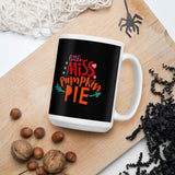 Little Miss Pumpkin Pie Thanksgiving And Fall Mug