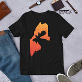 Maine Moose Hunting Unisex T-Shirt