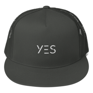 Yes Funny Mesh Back Snapback