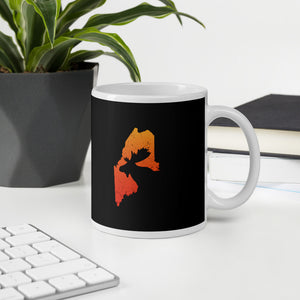 Maine Moose Hunting Gift Mug