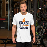 Son Of A Witch Halloween Unisex T-Shirt